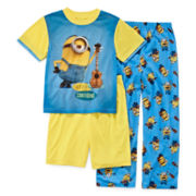 Minion 3-pc. Pajama Set - Boys 4-12