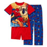 Spider-Man 3-pc. Pajama Set - Boys 4-12