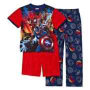 Avengers 3-pc. Pajama Set - Boys 4-12