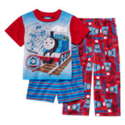 Thomas 3-pc. Pajama Set - Toddler Boys 2t-4t