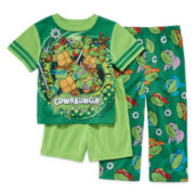TMNT 3-pc. Pajama Set - Toddler Boys 2t-4t