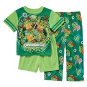 TMNT 3-pc. Pajama Set - Toddler Boys 2t-4t