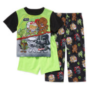Star Wars™ 3-pc. Pajama Set - Toddler Boys 2t-4t