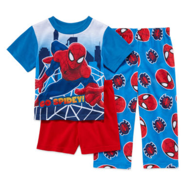 jcpenney.com | Spider-Man 3-pc. Pajama Set - Toddler Boys 2t-4t