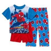 Spider-Man 3-pc. Pajama Set - Toddler Boys 2t-4t