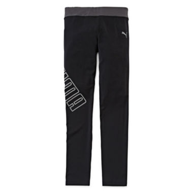 jcpenney.com | Puma® Athletic Tech Leggings - Girls 7-16