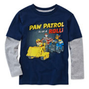 Paw Patrol Long-Sleeve Graphic Tee - Preschool Boys 4-7