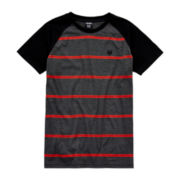 Zoo York® Striped Raglan Tee - Boys 8-20