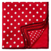 Four Corner Dot Pocket Square