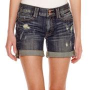 Decree® Boyfriend Denim Shorts