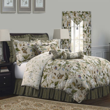 jcpenney.com | Williamsburg Garden Images 4-pc. Comforter Set