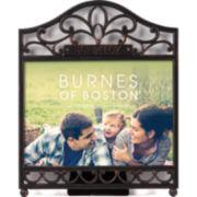 "Burnes of Boston® Vintage Hardware ""Family"" 5x7"" Picture Frame"