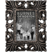 "Burnes of Boston® Carved Wood 4x6"" Picture Frame"