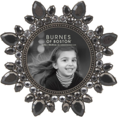 "jcpenney.com | Burnes of Boston® Smoked Jewels 4x4"" Picture Frame"