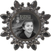 "Burnes of Boston® Smoked Jewels 4x4"" Picture Frame"