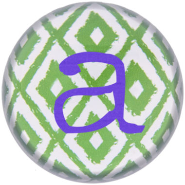 jcpenney.com | Cathy's Concepts Ikat Personalized Domed Glass Paperweight