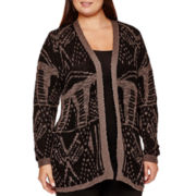 Alyx® Long-Sleeve Patterned Duster - Plus
