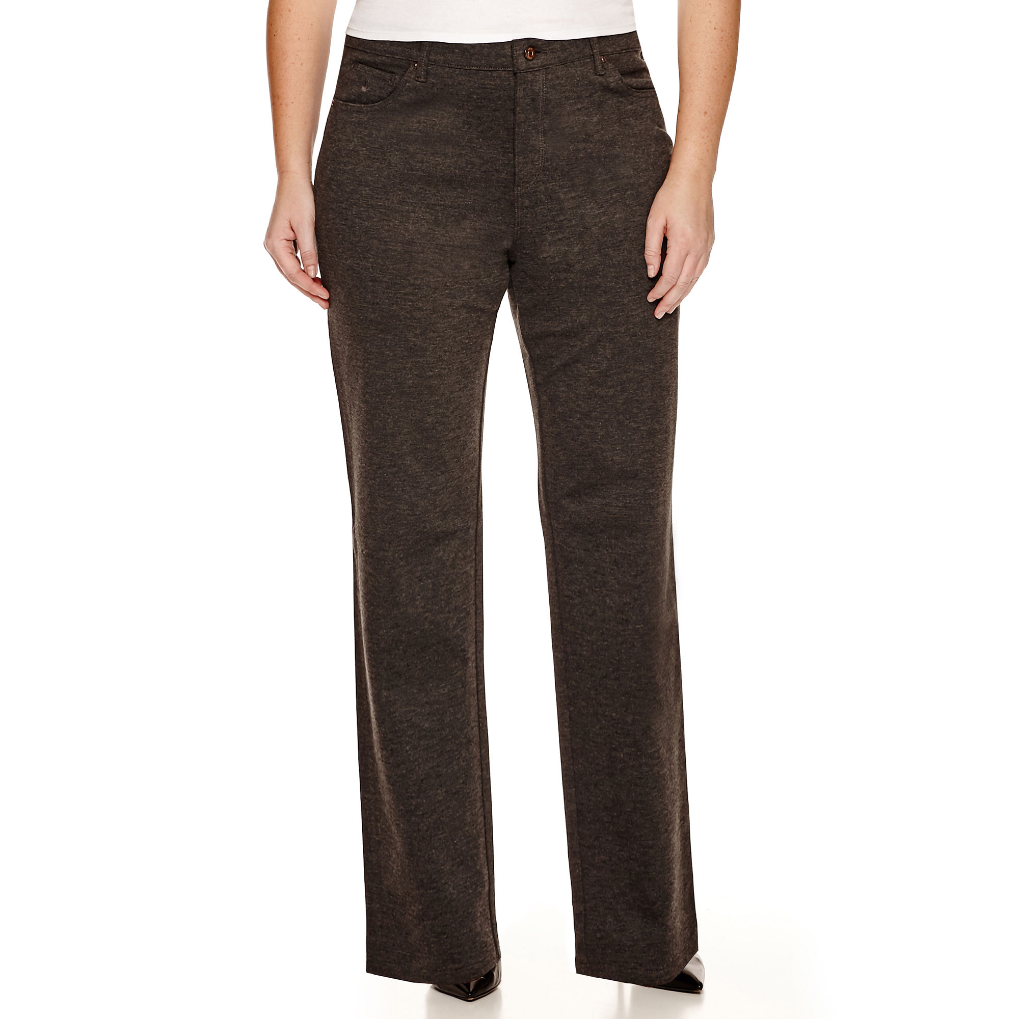 Gloria Vanderbilt Amanda Ponte Pants - Plus