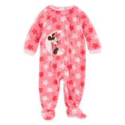 Disney Baby Collection Minnie Mouse Footed Bodysuit - Baby Girls newborn-24m