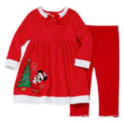 Disney Baby Collection Minnie Mouse Dress and Pants - Baby Girls newborn-24m