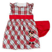 Disney Baby Collection Minnie Mouse Plaid Dress - Baby Girls newborn-24m