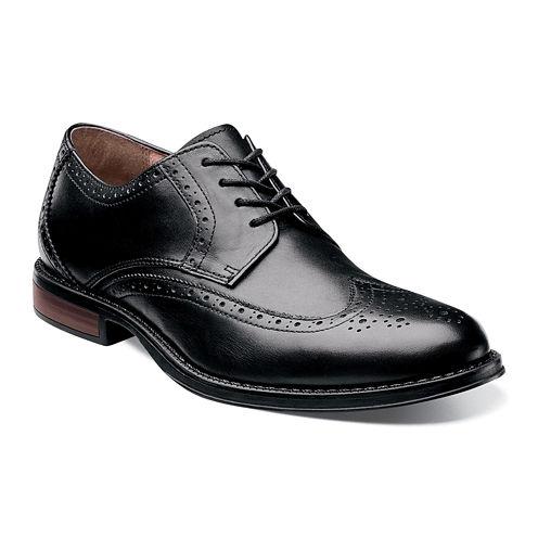 Nunn Bush® Ryan Mens Wingtip Leather Oxfords