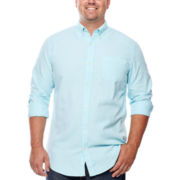 The Foundry Supply Co.™ Long-Sleeve Oxford Shirt - Big & Tall