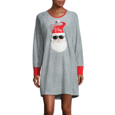 jcpenney.com | Pj Couture Fleece Long Sleeve Nightshir