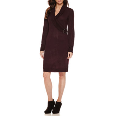 jcpenney.com | Ronni Nicole Long Sleeve Sweater Dress
