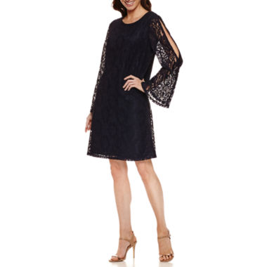 jcpenney.com | Msk Long Sleeve Shift Dress
