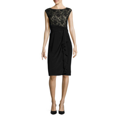 jcpenney.com | Tiana B Short Sleeve Sheath Dress