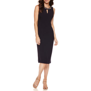 jcpenney.com | Liz Claiborne Sleeveless Sheath Dress