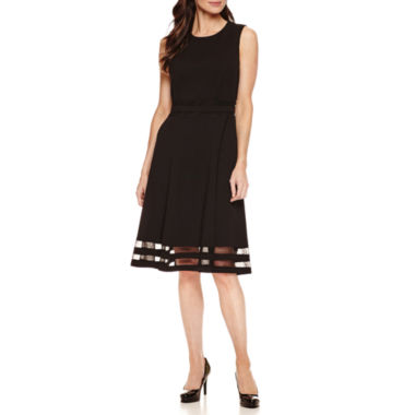 jcpenney.com | Liz Claiborne Sleeveless Fit & Flare Dress