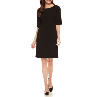 jcpenney.com | Liz Claiborne Elbow Sleeve Sheath Dress