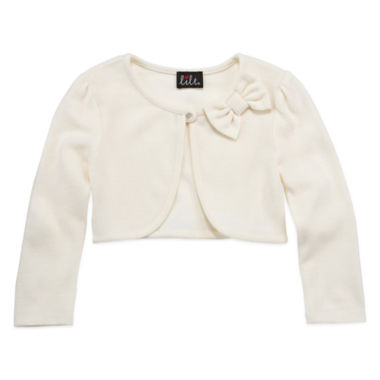 jcpenney.com | Lilt Long Sleeve Woven Cardigan - Preschool