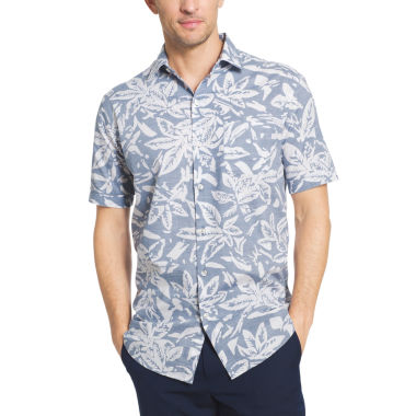 jcpenney.com | Van Heusen Short Sleeve White Washed Button-Front Shirt
