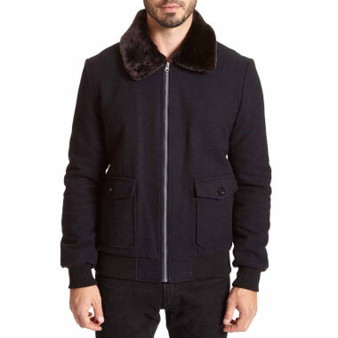 jcpenney.com | Excelled Faux Wool Bomber Jacket