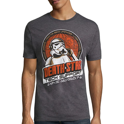 Star Wars Death Star Support Graphic T-Shirt