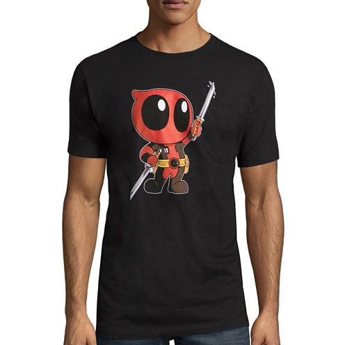 Deadpool Cute Marvel Graphic T-Shirt