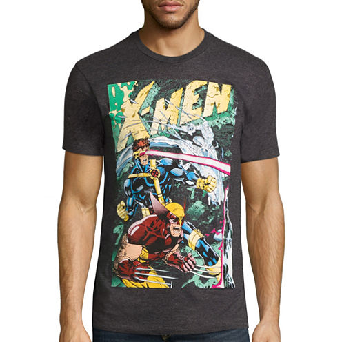 Marvel X-Men Cyclops/Wolverine Graphic T-Shirt