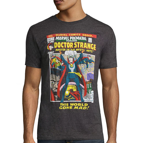 Short Sleeve Marvel Graphic T-Shirt