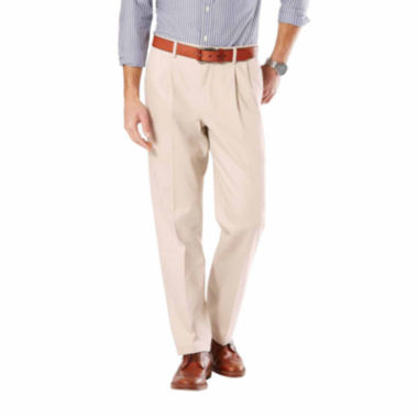 jcpenney.com | Dockers® Signature Stretch Pleated Pants- Big & Tall