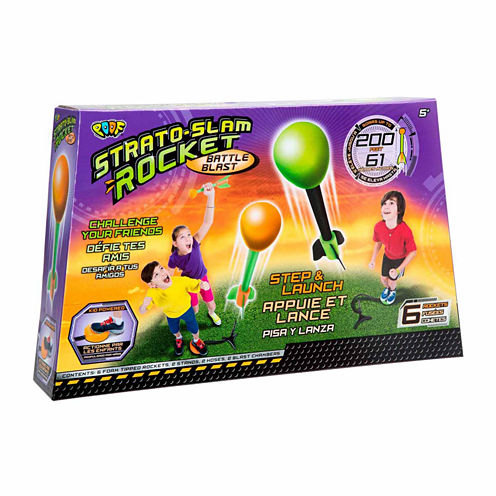Poof Strato Slam Rocket Battle Blast 10-pc. Combo Game Set