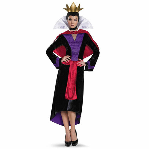 Disney Deluxe Evil Queen 3-pc. Disney Princess Dress Up Costume Plus