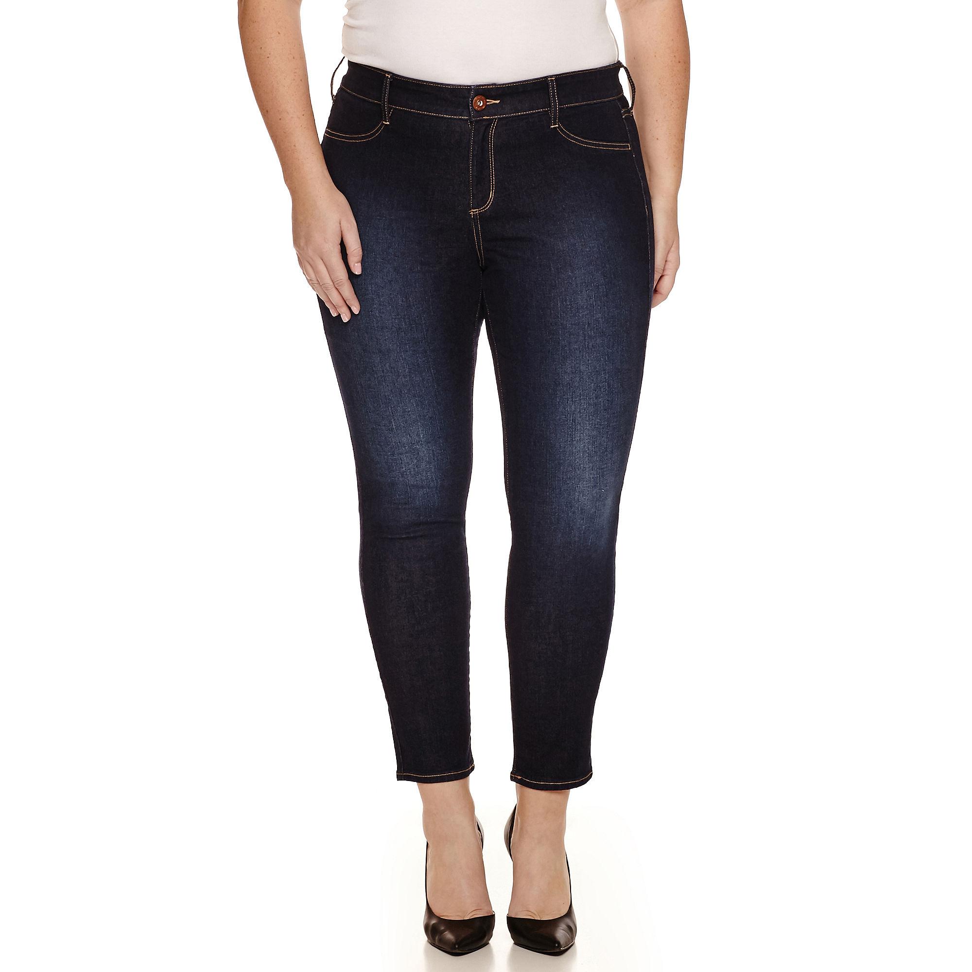 Arizona Skinny Jeans-Juniors Plus plus size,  plus size fashion plus size appare