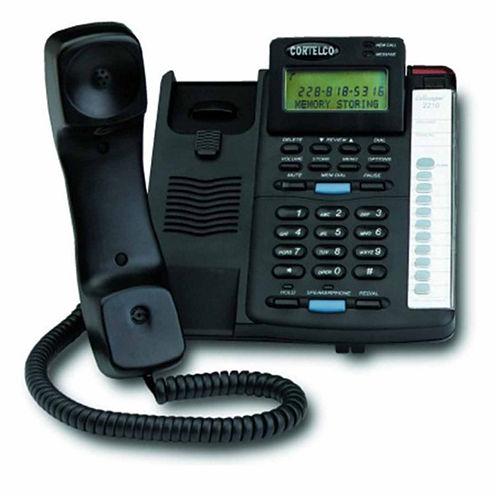 Cortelco ITT-2210 Colleague Single Line Corded Telephone with Caller ID