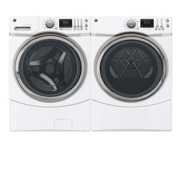 jcpenney.com | GE® Front Load 2-pc. Gas Washer & Dryer Set- White