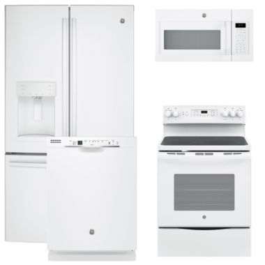 jcpenney.com | GE® 4-pc. Electric Kitchen Package- White