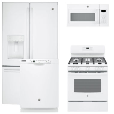 jcpenney.com | GE® 4-pc. Gas Kitchen Package- White