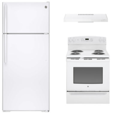 jcpenney.com | GE® 3-pc. Electric Kitchen Package- White